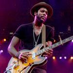 Gary Clark Jr. (pictured earlier this year in New Orleans) mixed his own material with covers in his two-hour show at Royale Friday.
