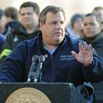 Governor Chris Christie of New Jersey said high winds could knock out power again and slow efforts to restore it.