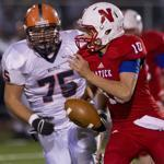 Natick is quarterbacked by Troy Flutie who has a Division 2A-leading 27 touchdown passes and 12 touchdown runs.