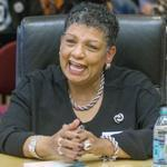 A MassDOT spokeswoman said there's no reason to rethink Beverly Scott's hiring as director of the MBTA.