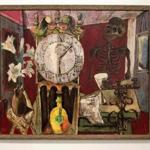 """Time Piece,"" from Karl Zerbe, one of the original Boston Expressionists."