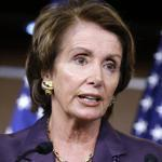Nancy Pelosi has told her party caucus she will remain as minority leader in the new session of Congress.