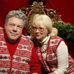 George Wendt and Shelley Long