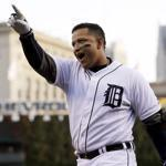 Baseball Writers Association of America voters wound up giving Miguel Cabrera 22 out of 28 first-place votes.