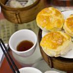 Dim sum at Lin Heung Tea House.