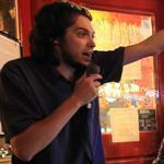 Will LaTulippe lauded Matt Toni at Whitehorse Tavern in Brighton.