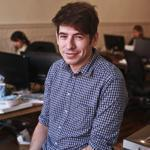 Yancey Strickler is confounder of Kickstarter, a leading crowdfunding site. The company would not comment on its meeting with the SEC about rules for the business.