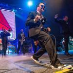 The Mighty Mighty Bosstones performing at the House of Blues during their Hometown Throwdown on Saturday.