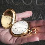 The Appleton Tracy pocket watch, serial number 50141, was a rare size 20, rather than the more common size 18.