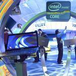 A man makes a video of the Intel booth during last year's International Consumer Electronics Show in Las Vegas.
