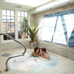 Skylight Hot Tub at G20 Spa + Salon on Newbury Street.