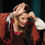 "Madeleine Lambert stars as the title character in Gamm Theatre's production of ""Anne Boleyn."""