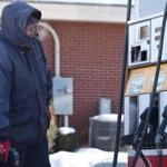 Usually, Troy Bouchard said, he goes without gloves at his job pumping gas.