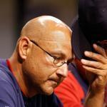 Former Red Sox Manager Terry Francona in 2011.
