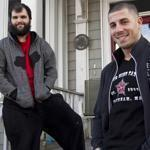 "Devin Mahoney and Jon Niedzwiecki star in the A&E television show ""Southie Rules."""