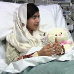 "Malala Yousufzai appeared with Dr. Mav Manji in a video Monday in England. She has been accused by the Taliban of promoting ""Western thinking."""