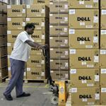 Dell was once the world's largest PC maker but now ranks third, behind Hewlett-Packard Co. and Lenovo Group. Above, a company factory in India.