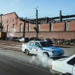 The roof of a Chelyabinsk zinc factory partially collapsed.