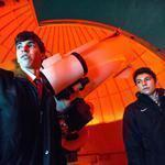 Sam Lapides (left) and Nick Veo kept a close eye on 2012 DA14 through a giant telescope at the Clay Center Observatory at Dexter and Southfield Schools.