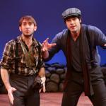 "Phil Tayler and Daniel Berger-Jones play all 15 characters in ""Stones in His Pockets."""