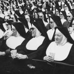 One of the 'Nun days' at Fenway park in the mid 1960s.