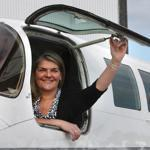 Linda Markham started her career at Cape Air as a human resources director. She takes over as president in about three weeks.