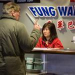 Passengers purchased tickets at South Station Tuesday for Fung Wah's afternoon trip to New York.