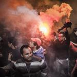 Supporters of the Al-Ahly soccer club reacted violently in Cairo after the verdict was announced Saturday.