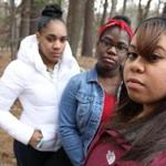 "Concord Carlisle High School students Britny Rabb (left), Danielle Gordon, and Soleina Garcia. Gordon said the incident ""stirred something in me . . . Enough is enough."""