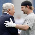 Robert Kraft believed the Patriots' offer to Wes Welker was very fair.