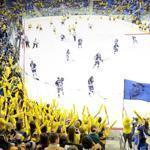 Quinnipiac built the $60 million TD Bank Sports Center, which was part of the re-launching of the sports program that has delivered its hockey team to the Frozen Four.
