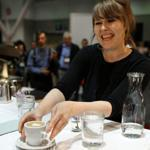 Judges watched every move made by Zaida Dedolph of Chicago during the Specialty Coffee Association's barista competition Friday.