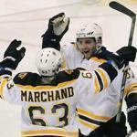 The Bruins need concussed forwards Patrice Bergeron and Brad Marchand to return in or near top form.