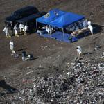 Investigators searched the Crapo Hill Waste Facility for evidence in the Boston Marathon bombing.