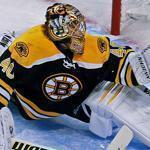 Tuukka Rask has had to keep his eye on the prize — the Bruins scored only 18 goals in the last nine games of the season.