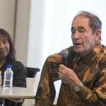 Antiapartheid activist Albie Sachs lost his right arm to a car bomb planted by South African agents 25 years ago.