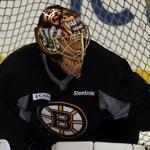 Tuukka Rask and the Bruins will host the Maple Leafs on Wednesday.