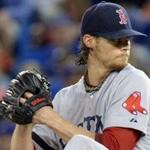 Pitchers who cheat usually compensate for being a little short on velocity. Clay Buchholz has no such problem.