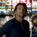 "From left, Ed Helms, Bradley Cooper, and Zach Galifianakis in ""The Hangover Part III.""  What's missing from the flick is a sense of comic outrage."