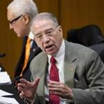 Senator Charles Grassley said that Justice officials were being unduly secretive about the full classified report.