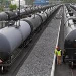 Rail cars unloaded crude oil at a terminal owned by Waltham-based Global Partners LP in 2013.