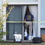 Investigators entered an apartment in Orlando where Ibragim Todashev was killed by an FBI agent Wednesday.