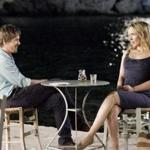"Jesse (Ethan Hawke) and Celine (Julie Delpy) are 40-somethings with twins — and still many questions about love and life — in ""Before Midnight."""