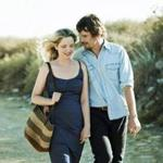 "Ethan Hawke and Julie Delpy as Jesse and Celine in""Before Midnight."""