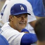 Dodgers manager Don Mattingly before a baseball game between the Los Angeles Dodgers and the Washington Nationals earlier this month.