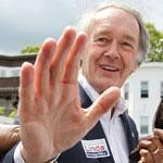 Edward J. Markey campaigned during the Haitian-American Unity Parade in Mattapan in May.