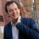 """I'm in a dream,"" conductor Andris Nelsons said during his busy day in Boston."