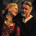 "Jayne Atkinson as Eleanor of Aquitaine and Treat Williams as Henry II in ""The Lion in Winter"" in Stockbridge."