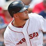 Brandon Snyder knocked in two runs for the Red Sox with a double in the second inning.