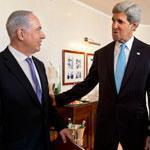 John Kerry spent time with Israeli Prime Minister Benjamin Netanyahu last weekend.